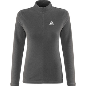 Odlo Roy 1/2 Zip Midlayer Women shale grey-black stripes